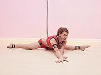 Greta Pontarelli - Aerial Zen Pole Dance Artist